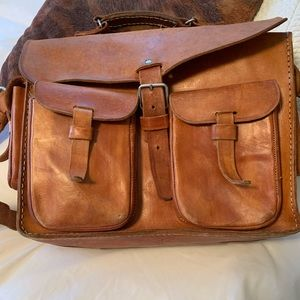 Other - Men's genuine leather briefcase